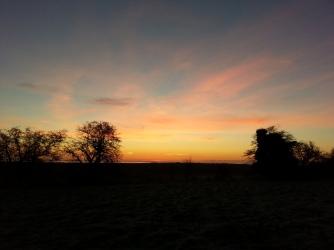 Geminids dawn